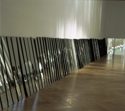 Anna -Lea Kopperi - Light Installations - White Room - Mirror Room